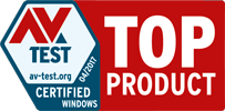 "Avira Antivirus Pro was awarded the ""Top Product"" award by AV Test"