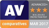 Avira Antivirus Pro was awarded AV Comparatives