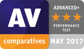 "AV Comparatives gave Avira it's top 3-star award in the ""performance"" category"
