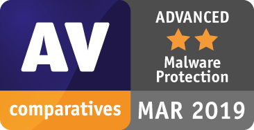 Antivirus Pro received AV Comparatives' top Advanced + award