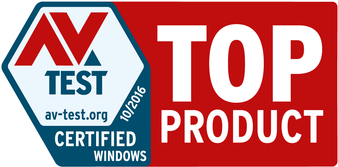 AV Test Top Product Award