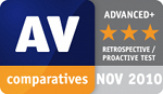 AV-Comparatives.org: Advanced+ Award