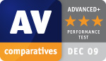 AV Comparatives December 2009
