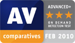 AV Comparatives Feb 2010