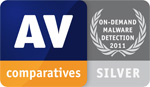 AV-Comparatives: On-Demand Malware Detection - Silver