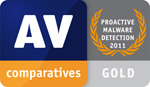 AV-Comparatives: Proactive On-Demand Detection - Gold