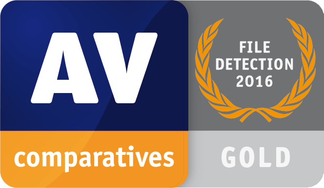 AV Comparatives File Detection Gold 2016