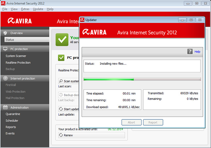 avira antivir control center gratuit