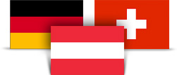 DACH Flags