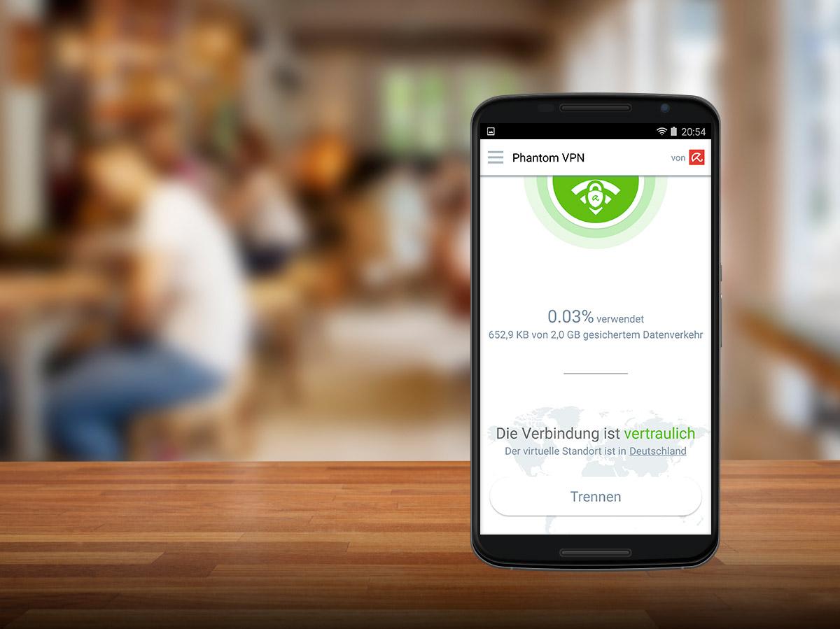 Phantom VPN Kostenloser VPNClient Für Anonymes Surfen Avira - Minecraft uber vpn spielen