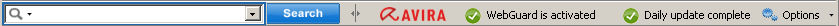 Avira SearchFree Toolbar - Up to date