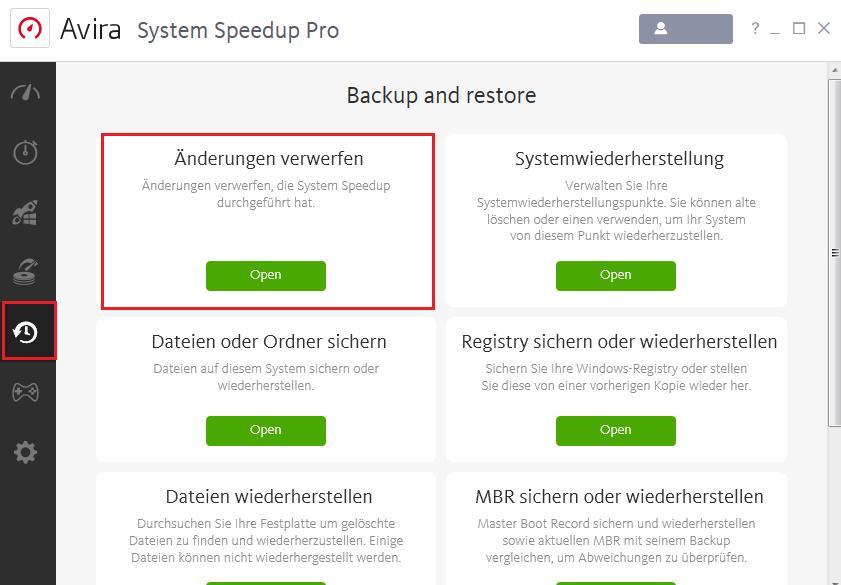 Syste_Speedup_Pro_Änderungen_verwerfen