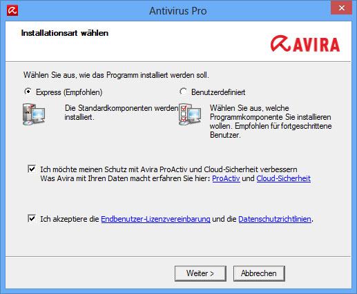 antivirus-pro_installationsart-wählen_de