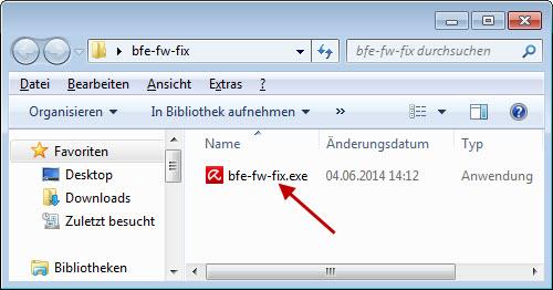 Windows Explorer - Datei ausführen