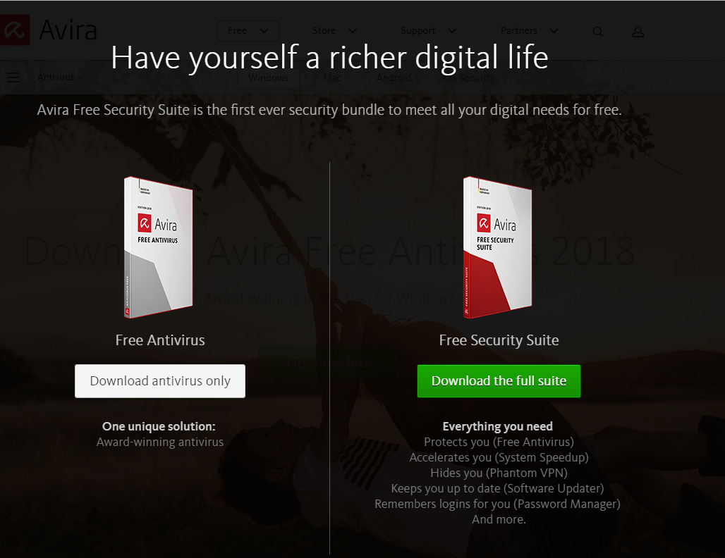 avira antivir antivirus free download