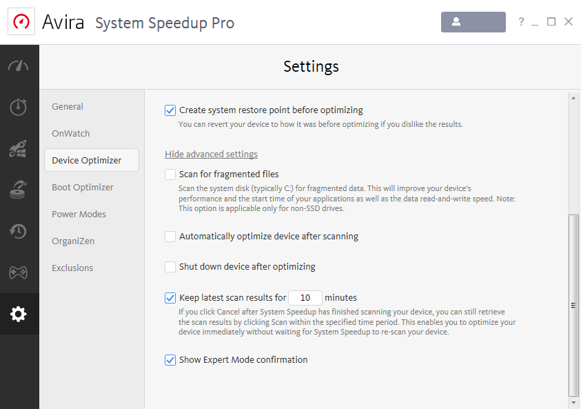 avira-system-speedup_device-optimizer_advanced-settings_en