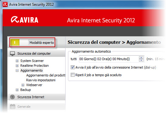 Avira Internet Security 2012_Expert mode_IT