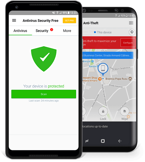 ad free antivirus for android