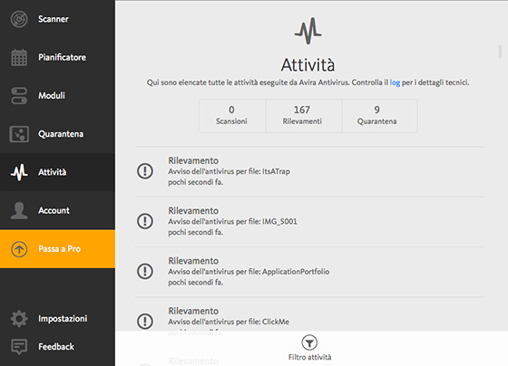 avira free antivirus per mac