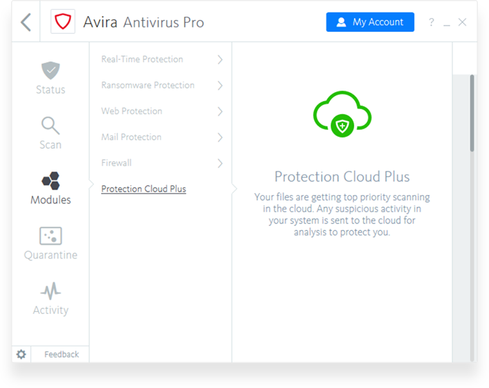 avira testversion