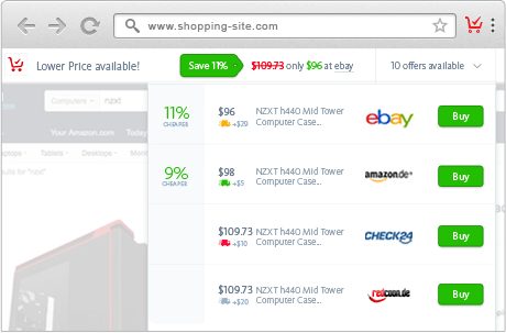 Avira Safe Shopping Extension for Chrome