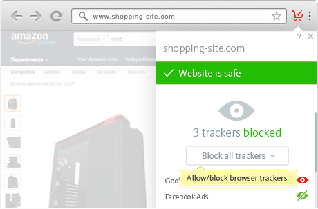 Shopping bleibt Ihre Privatsache - Avira Safe Shopping