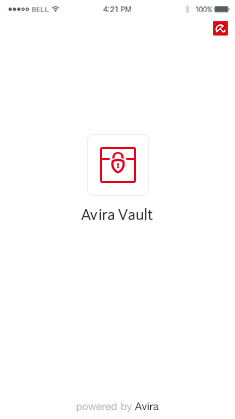 Avira Vault for iPhone - powered by Avira