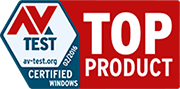 AV Test, February 2016 - Top Product Certified for Windows