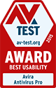 AV Test 2015 Award - Best Usability