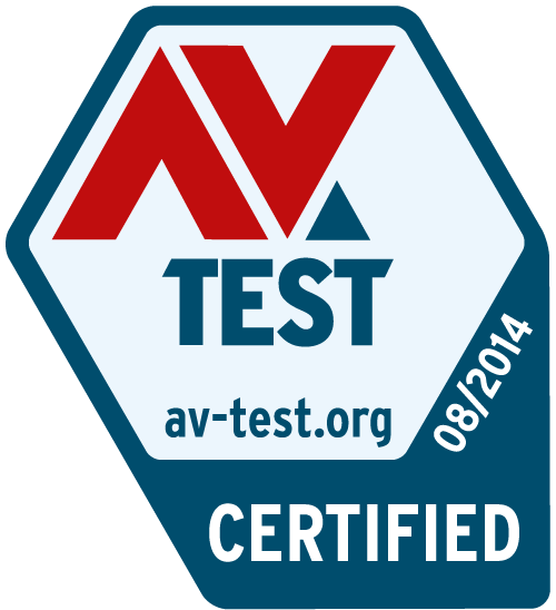 AV Test Certified Award