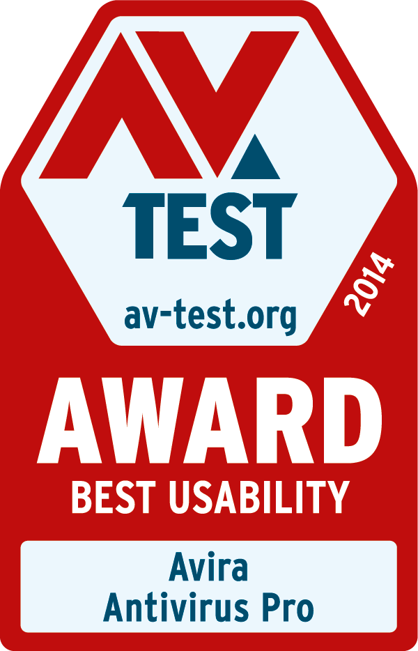 Avira AV-Test best usability award