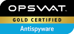 OPSWAT Gold Certified Antispyware Award