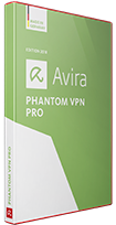 Avira Phantom VPN product Box Shot