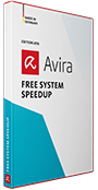 Avira System Speedup product box shot