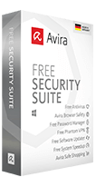 Avira Free Security Suite product box shot