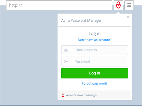 Avira Password Manager - Settings