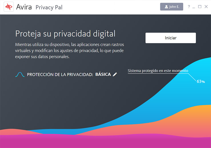 Privacy Pal dashboard