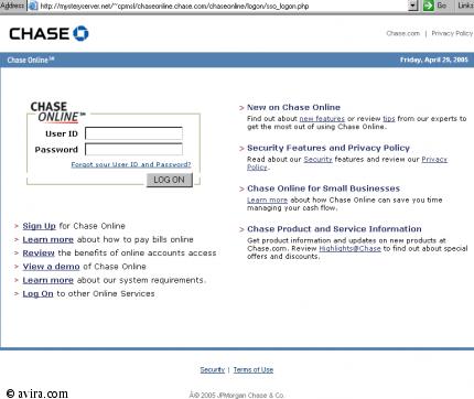 Chase Online Login .com/chaseonline/logon/