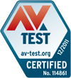 Avira Internet Security 2012 - AV Test.org certified