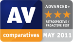 AV comparatives: Advanced+ for Avira AntiVir Premium in retrospective / proactive test
