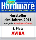 Avira PC Games Hardware Award