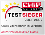 Chip Testsieger July 2007