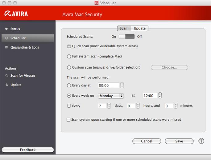 Download Free Avira Antivirus for Mac