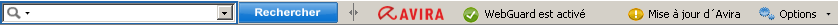 Avira SearchFree Toolbar - Mise à jour d'Avira