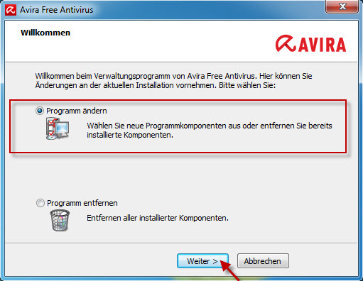 avira_free_antivirus_sp1_modify_installation_de
