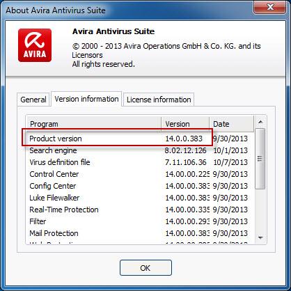 avira antivirus not updating