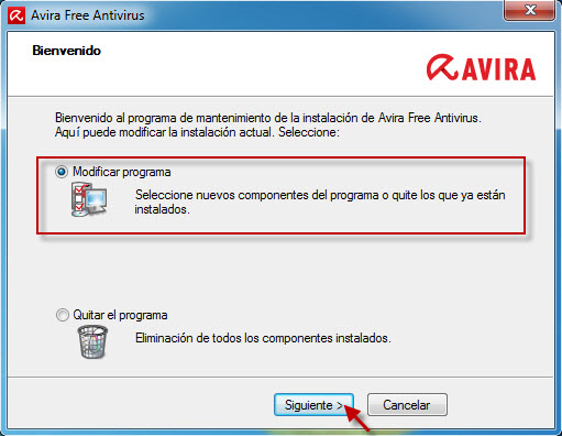 avira_free_antivirus_sp1_modify_installation_es