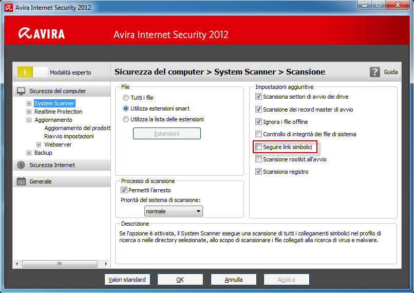 Avira Internet Security 2012_Follow_symbolic_links_IT
