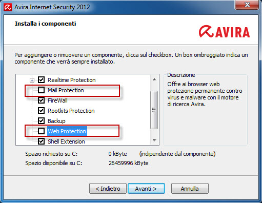 Avira_Internet_Security_2012 - Install Components