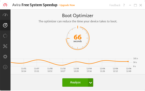 Avira System Speedup - Boot Screenshot